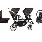 Comfort Delux Siblings package including a cabriofix
