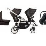 Comfort Delux SIblings package including a citi car seat