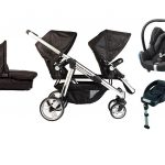 Siblings Delux Cabriofix travel system