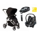 Essential Delux isofix single travel system