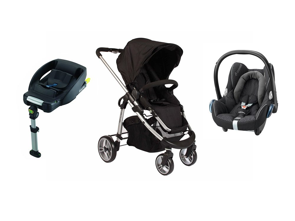 Essential Delux Cabriofix Single Travel System