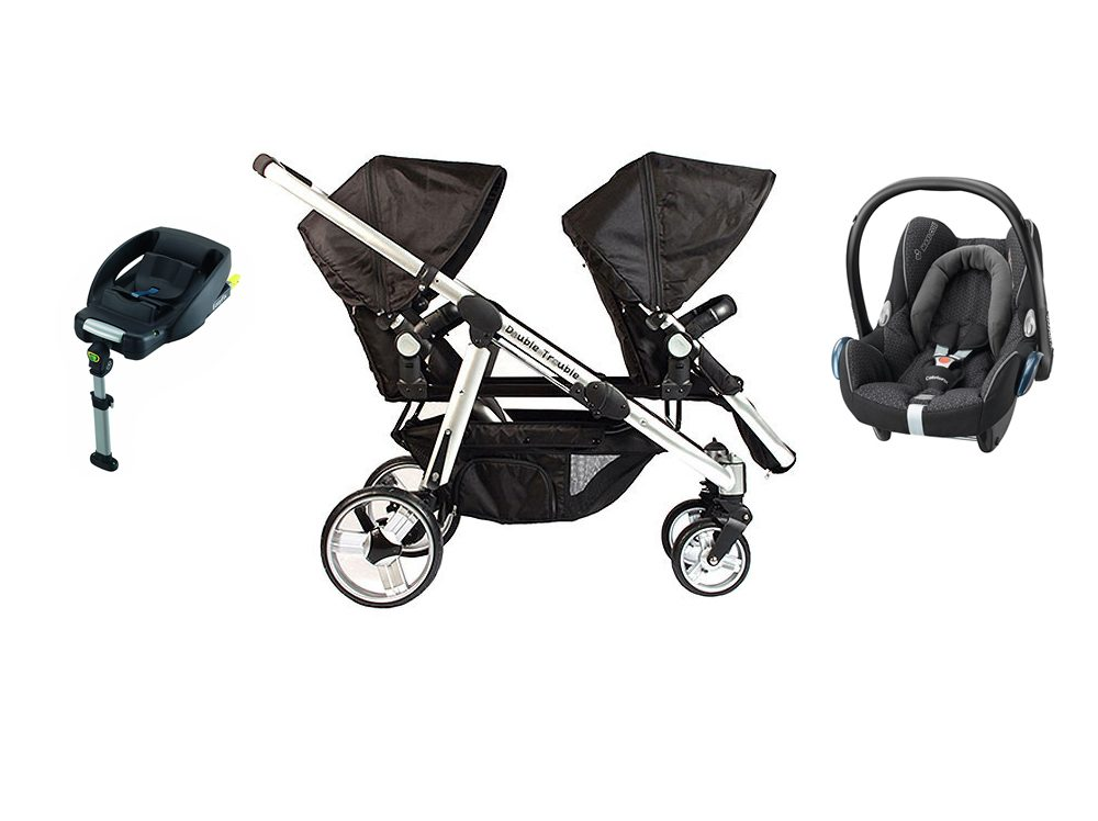 Essential Delux Siblings Cabriofix travel system
