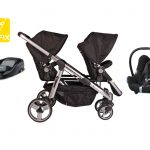 Essential Delux Siblings isofix travel system