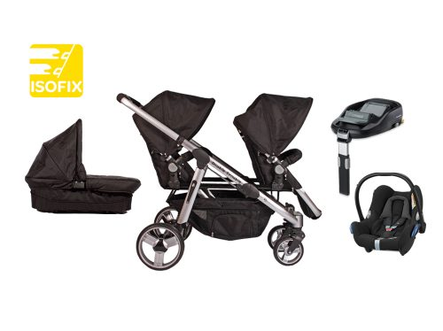 Siblings Delux isofix travel sysetm