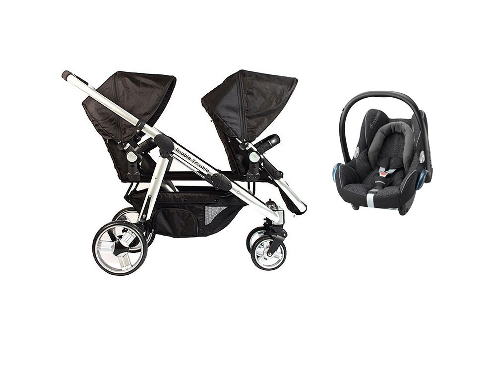 Essential Siblings Cabriofix travel system