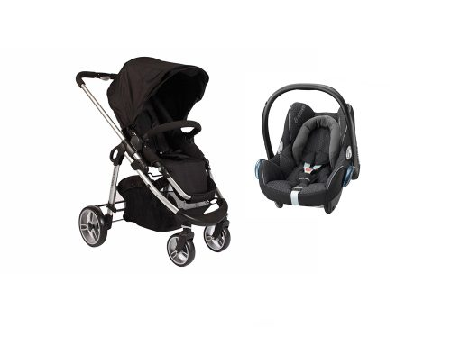 Single Essential Cabriofix travel system