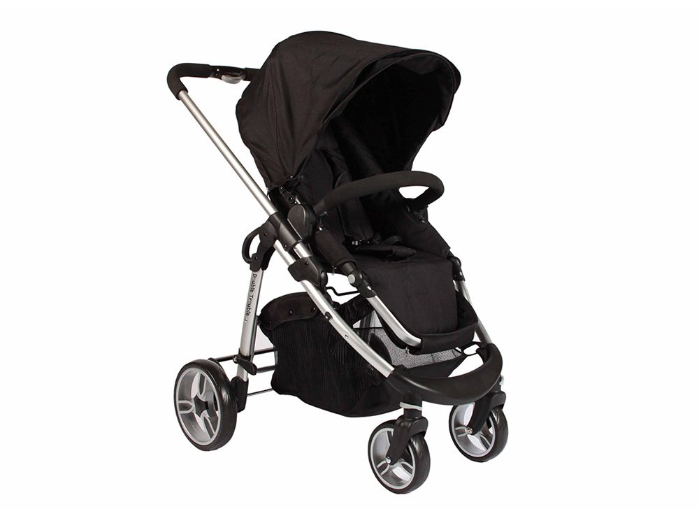 Double Trouble single pram