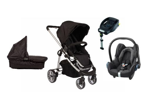 Single Delux Cabriofix Travel System